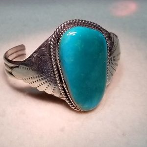 Jewelry - Turquoise sterling bracelet